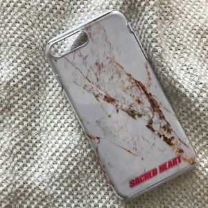 Accessories - Sacred Heart iPhone 7 Plus marble case